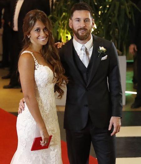 Lễ cưới của Messi là thành quả của chặng đường tình yêu ngọt ngào