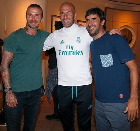 Dàn sao một thời của Real Madrid đã hội ngộ