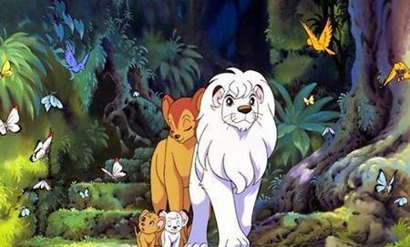 """Ngay từ những năm 1965, trên màn ảnh nhỏ Nhật Bản đã xuất hiện bộ phim """"Jungle emperor Leo"""" nói về chúa tể rừng xanh"""