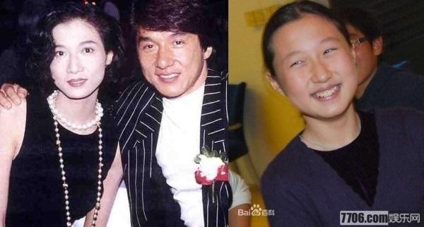 Thành Long - Hoa hậu châu Á Ngô Ỷ Lợi thời còn mặn nồng và con gái Ngô Trác Lâm