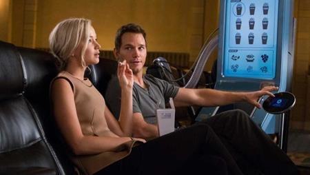 """Chán làm siêu anh hùng, """"Star-Lord"""" Chris Pratt đã """"rủ"""" """"Mystique"""" Jennifer Lawrence du hành vũ trụ trong phim """"Passengers"""" (2016)"""