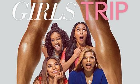 """Hay: """"Girls trip"""", tác phẩm hài nhẹ nhàng vừa ra mắt trong hè này thực sự là cơn gió lạ dành tặng các khán giả. Xoay quanh những tình huống hài hước, bất ngờ của bốn người phụ nữ, bộ phim không chỉ đem tới một tiếng cười sảng khoái mà còn gây xúc động mạnh với tình bạn chung thủy, bền vững của hội chị em."""