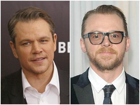 Khá bất ngờ khi biết rằng Matt Damon và Simon Pegg đều cùng sinh năm 1970