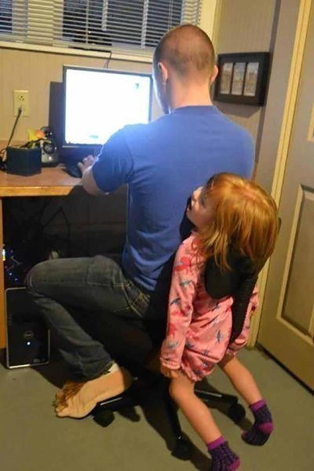Đây là biện pháp giúp tăng cường sự thân mật giữa hai cha con