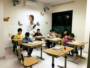 Không gian của lớp học rất thân thiện.