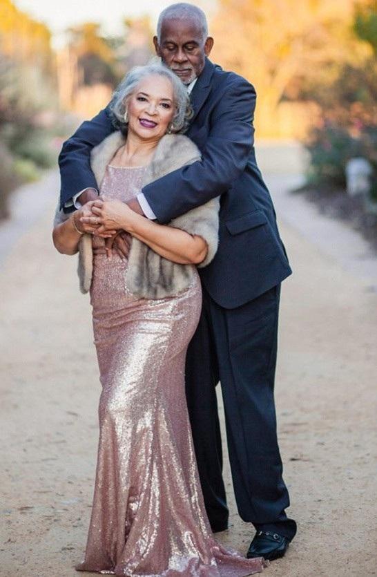Ông Marvin và bà Wanda gặp nhau lần đầu tại trường đại học Livingston ở Salisbury, North Carolina