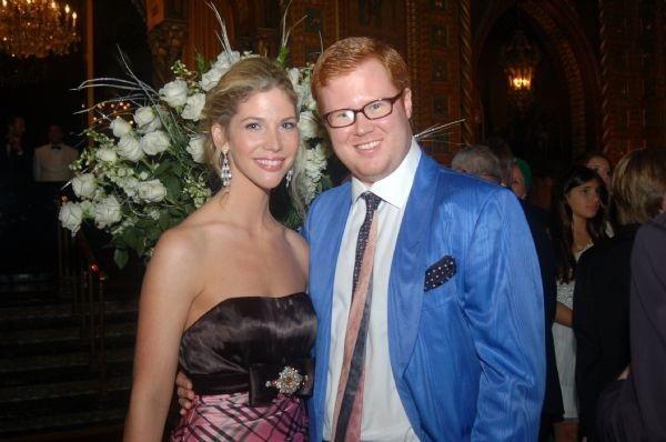 Wyatt Koch và Ive Gabrielle Slocumb trong ngày lễ đính hôn