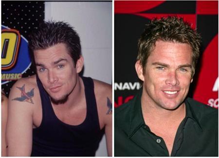 """Cựu sao của nhóm """"Suger ray"""", Mark McGrath là một trong số ít ngôi sao vẫn duy trì được vẻ điển trai, lịch lãm bất chấp tuổi tác."""