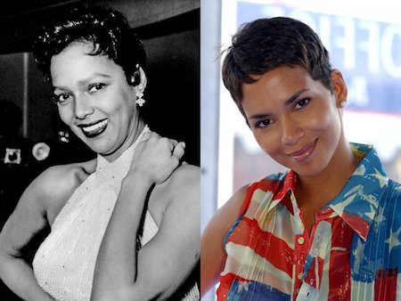 Halle Berry, nữ diễn viên da màu đầu tiên nhận được giải Oscar thực sự trông rất giống với Dorothy Dandridge, nữ diễn viên da màu đầu tiên nhận được đề cử giải thưởng này.