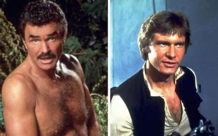 """Burt Reynolds từng thừa nhận việc từ chối vai diễn Han Solo trong phim """"Chiến tranh giữa các vì sao"""" là sai lầm khiến cho nam tài tử cảm thấy nuối tiếc nhất."""
