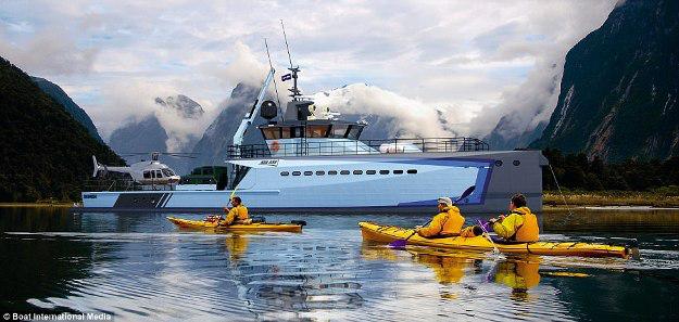 Những thiết kế siêu du thuyền mới nhất dành cho tỉ phú - 6