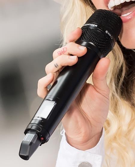 Trên tay của Miley Cyrus có khá nhiều hình xăm ấn tượng, từ trái tim, người ngoài hành tinh cho tới cả một miếng dưa hấu