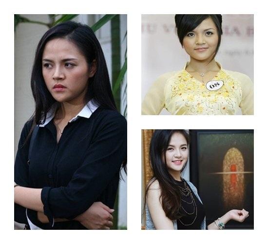 Thu Quỳnh từng lọt top 10 Hoa hậu Việt Nam 2008