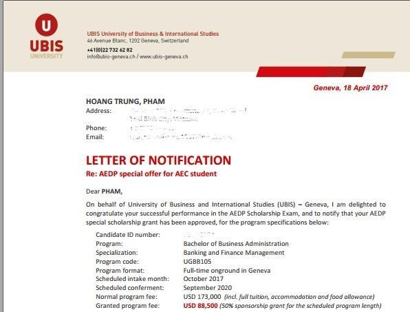 Du học Thụy Sĩ: Cơ hội nhận các suất học bổng giá trị 2.5 tỷ VNĐ dành cho DHS Việt Nam - 6