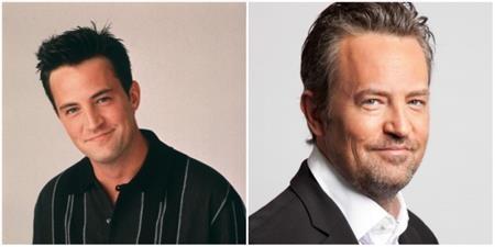 """Anh chàng Chandler Bing trong """"Friends"""" do Matthew Perry thể hiện thì cũng trở nên già dặn, phong trần hơn xưa."""