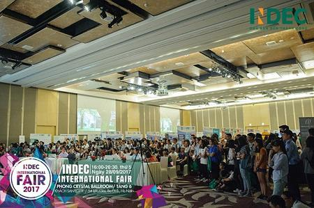 Quy mô sự kiện INDEC International Fair 2016