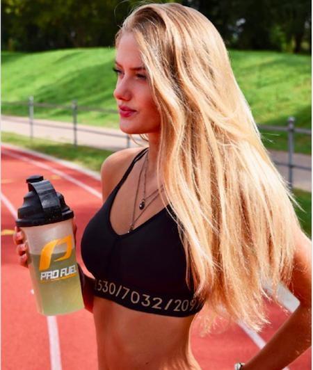 Alica là niềm hy vọng lớn của tuyển Đức trong kì Olympic sắp tới