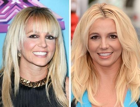 """""""Công chúa nhạc pop"""" Britney Spears có vẻ cũng khá hợp với chuyện để tóc mái"""