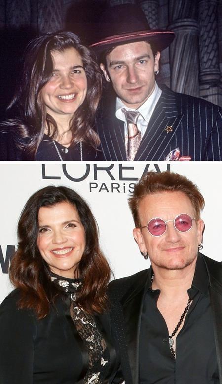 Bono và Alison Hewson đã quen nhau từ thời niên thiếu và tình yêu của cả hai được vun đắp bền vững theo thời gian. Và theo Bono thì một gia đình cần phải được quản lý chặt chẽ, điều mà bà xã của nam ca sĩ hết sức thành thạo.