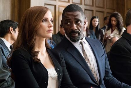 """Tác phẩm hình sự """"Molly's game"""" với sự tham gia của Jessica Chastain, Idris Elba và Kevin Costner chắc chắn sẽ là cơn gió lạ thổi tới khán giả vào dịp cuối năm nay."""