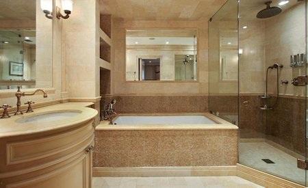 """Phòng tắm đẹp đến """"loá mắt"""""""