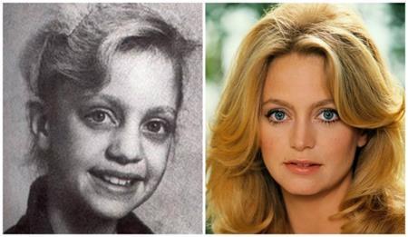 Nữ minh tinh Goldie Hawn từ nhỏ đã tỏa ra khí chất ngời ngời