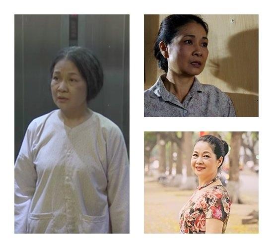 Nghệ sĩ Minh Phương vào những vai hiền lành, chất phác