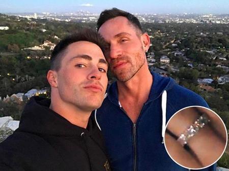 Colton Haynes đã chính thức đính hôn với bạn trai Jeff Leatham vào hôm 11/3 với một chiếc nhẫn kim cương 4,5 carat.