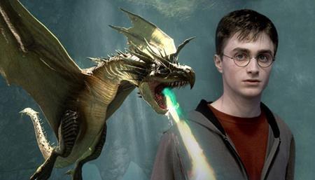 """Các nhà sản xuất tại Hollywood thường đưa ra dòng thông điệp: """"Không loài vật nào bị làm hại trong quá trình sản xuất phim"""" để trấn an người hâm mộ. Và trong """"Harry Potter and the Goblet of Fire"""", đoàn làm phim đã hài hước nhắn nhủ rằng: """"Không có con rồng nào bị làm hại trong quá trình sản xuất bộ phim này""""."""