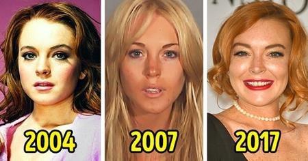 Hồi năm 2007, Lindsay Lohan đã được tạp chí Maxim vinh danh là người phụ nữ sexy nhất hành tinh. Đáng tiếc là sau đó, sức hấp dẫn của Lilo dần tiêu tan theo nghiện ngập và hàng loạt scandal bê bối. Trở thành biểu tượng sa ngã tại Hollywood, Lindsay Lohan đã mất rất nhiều thời gian để phục hồi cuộc sống và hiện tại, nữ diễn viên cũng đã dũng cảm trở lại với điện ảnh.