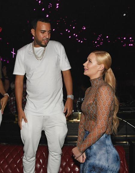 Hồi hè này, Iggy Azalea cũng đã thắp lên ngọn lửa tình yêu với người cũ của Khlóe Kardashian là rapper French Montana.
