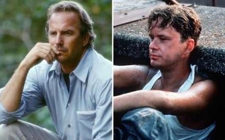 """Ban đầu, Kevin Costner đã được mời đóng bộ phim """"Nhà tù Shawshank"""" nhưng nam tài tử lại từ chối để tham gia vào một """"bom xịt"""" với kinh phí sản xuất đắt đỏ là """"Waterworld"""". Giờ đây, khi """"Nhà tù Shawshank"""" trở thành một trong những tác phẩm điện ảnh xuất sắc nhất mọi thời đại với màn trình diễn của nam diễn viên Tim Robbins, Kevin Costner hiển nhiên có lí do để cảm thấy tiếc nuối."""