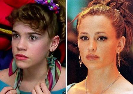 """Christa Brittany Allen và Jennifer Garner đã cùng diễn một vai trong phim """"13 going on 30"""""""