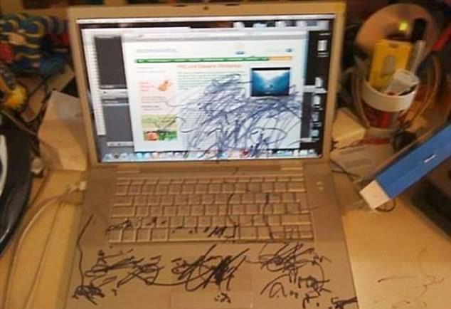 Chiếc máy tính đã hoàn toàn thay đổi diện mạo nhờ khả năng hội họa của con