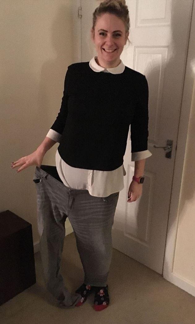 Natalie đã có thể xỏ vừa hai chân trong một ống quần ngày xưa