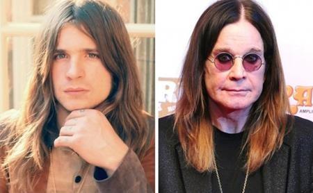 Rocker Ozzy Osbourne từng có một thời điển trai lãng tử như thế này