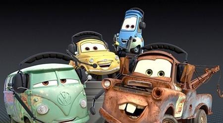 """… cũng gần như được sao y từ bộ phim """"Cars"""" của Disney"""