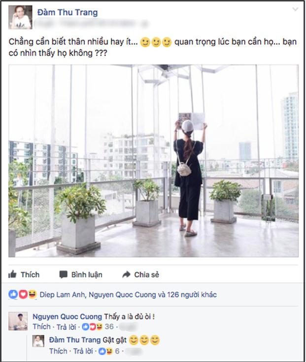 Cường Đô la công khai rủ Đàm Thu Trang đi chơi, yêu không thể giấu? - 3