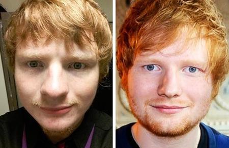 Vì quá giống Ed Sheeran nên chàng trai Ty Jones cũng đã tự nhận mình là anh em sinh đôi với chàng ca sĩ nổi tiếng