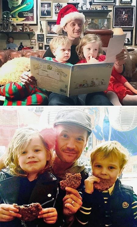 May mắn có được một cặp sinh đôi nhờ người mang thai hộ, Neil Patrick Harris luôn rất tự hào về các con của mình.