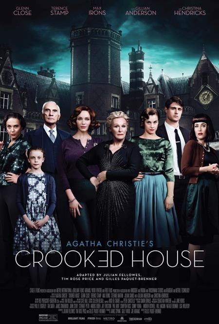 """Sau tác phẩm chuyển thể """"Murder on the Orient Express"""" không thực sự thành công, các fans hâm mộ tiểu tuyết của Agatha Christie vẫn có thể trông đợi vào bộ phim chuyển thể tiếp theo mang tên """"Crooked house"""" sẽ ra mắt vào dịp cuối năm nay."""