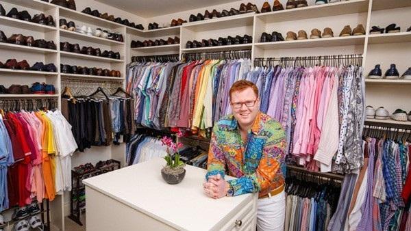 Wyatt Koch là chủ một thương hiệu thời trang danh tiếng