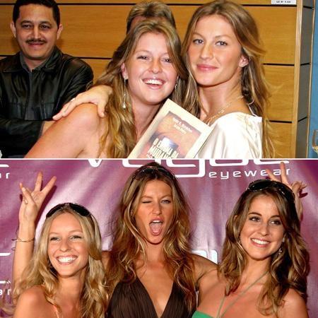 Rất nhiều fan hâm mộ đã phải ngỡ ngàng khi biết được rằng Gisele Bündchen thực ra có tới 5 người chị em gái là Raquel, Graziela, Gabriela, Rafaela và người chị em sinh đôi khác trứng Patricia
