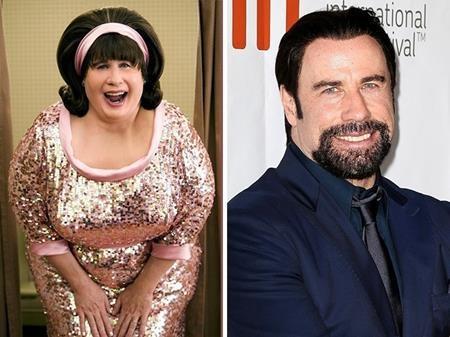 """John Travolta cũng đã có một màn chuyển giới ấn tượng trong phim """"Hairspray"""" (2007)"""