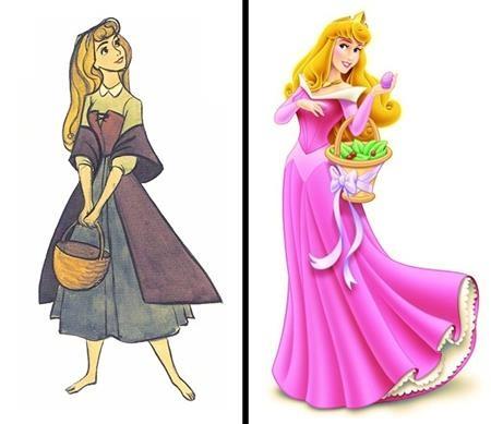 """Cô công chúa Aurora trong """"Sleeping beauty"""" thì lúc nào cũng xinh đẹp long lanh, bất chấp mọi bộ cánh trên người"""