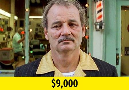"""Hồi đóng bộ phim """"Rushmore"""" (1998), Bill Murray đã là một ngôi sao hết sức nổi tiếng tại Hollywood. Dù vậy, nam tài tử vẫn gật đầu đồng ý với khoản cát-xê 9.000 đô la Mỹ khi tham gia tác phẩm của đạo diễn Wes Anderson. Thậm chí, khi nhà sản xuất không muốn bỏ tiền ra thuê một chiếc trực thăng cần thiết cho việc quay phim, Bill Murray còn hào phóng viết một tấm séc trị giá 25.000 đô la Mỹ nhằm giúp đỡ đạo diễn Anderson."""