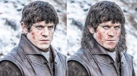 Ramsay Bolton đáng lẽ cũng phải có tóc tai lòa xòa hơn nhiều