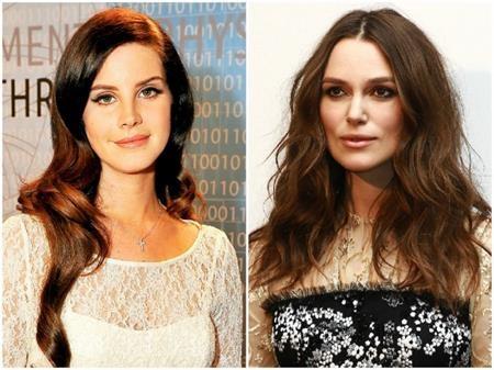 Hai ngôi sao xinh đẹp Lana Del Rey và Keira Knightley đều cùng sinh năm 1985