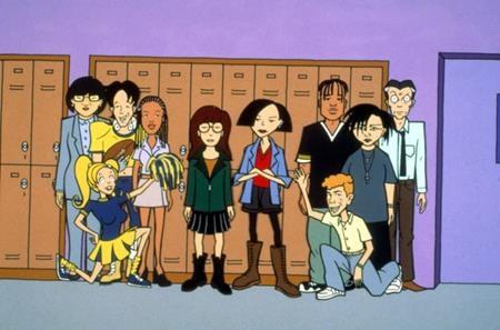 """""""Daria"""", series phim hoạt hình rất nổi tiếng của MTV, đã công chiếu tập đầu tiên vào tháng 3/1997 và chỉ chính thức khép lại sau 5 mùa chiếu thành công."""