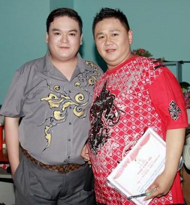 Diễn viên Phúc Béo và Minh Béo